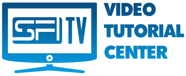 SFITV Video Tutorial Center
